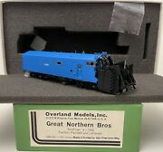 Brass H0 Overland Models Omi-3031.1 Great Northern Bros Snoflyer X 1500 Factory