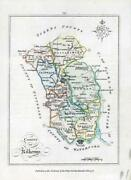 1776 Ireland - Rare Engraved Antique Map Of Kilkenny By Bernard Scale Bs2/20