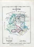 1776 Ireland - Rare Engraved Antique Map Of Connaught By Bernard Scale Bs2/18
