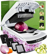 Vegetable Onion Chopper With Container Slicer Dicer Spiralizer Cutter Kitchen