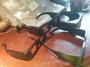 Lot Of 4 Infitec Premium 3d Glasses Large Venue Type D Made In Germany