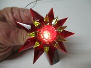 1930s C-6 Double Matchless Star Light 3 - Red Green Red - 700 Size