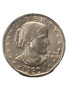 1980-s Type Ii S Susan B. Anthony Dollar Authenticated Bu Potential Rpm Ddo Ddr