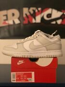Nike Dunk Low Photon Dust White Size 7w/ 5.5m -dd1503-103 In Hand/fast Shipping