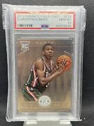 2013 Totally Certified Giannis Antetokounmpo Rookie Rc 236 Psa 10 Gem Mint Base