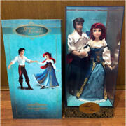 Disney Little Mermaid Fairy Tale Doll Ariel And Eric Limited Edition Used 899/me