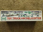 Hess 2006 Toy Truck And Helicopter