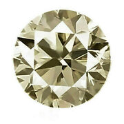 Diamond 1.02ct Rare Aaa Fancy Gray Tinted Yellow 100 Natural Earth Mined Africa