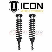 Icon Front Coilover Spring And Shock Assembly For 2007-2019 Toyota Tundra - In