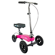 Kneerover Hybrid Fusion Knee Scooter Patent Pend All Terrain W/ 4 Wheel Steering