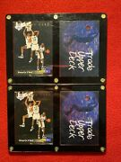 Lot Of Two 2 91/93 Upper Deck Shaquiile Oneal Rookie Cards+ Trade Cards. Hof