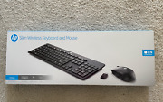 Hp Wireless Keyboard And Mouse Set - 2.4 Ghz - Black