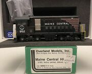 Brass H0 Overland Models Omi-6353.1 Maine Central Hh-660 952 Factory Painted