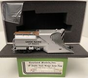 Brass H0 Overland Models Snow Plow Omi-3209.1 Union Pacific Up 900023