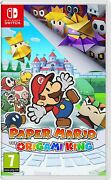 Paper Mario The Origami King Nintendo Switch New Sealed