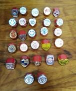 Vintage Gumball Vending Machine Cracker Jack Toys Charms Rings Prizes Lot