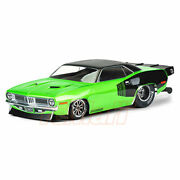 Pro-line 1972 Plymouth Barracuda Clear Body Set For Rc Slash 2wd Drag Racing