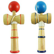 Special Traditional Kendama Ball Wood Wooden Educational Game Skill Toy Z0utk0