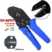 Crimping Pliers End-sleeve Cable Clamp Locking Strippers Press Tool 0.25-6mm2