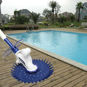 Automatic Pool Cleaner Swimming Pool Vacuum Inground Above Ground W/10 Hose