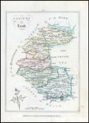 1776 Ireland - Rare Engraved Antique Map Of Louth By Bernard Scale Bs2/27