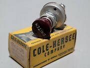 Vintage Nos Cole-hersee Two Position Illuminated Switch 2476 Estate Cleanout