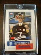 2004 Ben Roethlisberger Future Star Omr Rookie Rc Le 1 Of 25 Gold