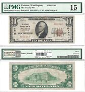 1929 10 Security National Bank Of Palouse 240278 Pmg Choice Fine-15
