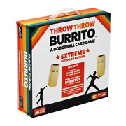 Throw Throw Burrito By Exploding Kittens Extreme Outdoor Edition, Free Shipping