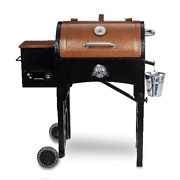 Pit Boss 340 Sq. In. Portable Tailgate Camp Pellet Grill With Folding Legs