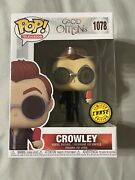 2021 Funko Pop Television Good Omens Crowley Chase 1078 Mint In Hand