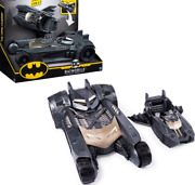Batman Batmobile And Batboat Transforming 2 In 1 Vehicle Eject 4-inch Dc