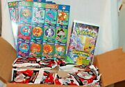 New Set Of 57 Burger King Pokemon Toys, A Vhs First Home Movie, 17 Uncut Sheets