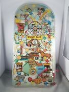 Vintage 1950's Marx Deluxe State Fair Bagatelle Pinball Game24
