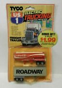Tyco Us-1 Ho Scale Us1 Electric Trucking Roadway/coca-cola Trailer Set No. 3061b