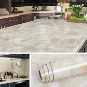Livelynine 197 X 36 Inch Wide Marble Contact Paper Peel And Stick Countertops...