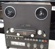 Teac Open Reel Deck Model X-10r Maintained Reel Clamper And Parts Are Missing