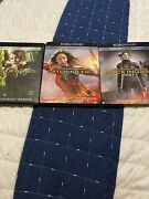 The Hunger Games 4k Blu-ray Lot Of 3 Excellent Condition