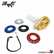 Robby Moto Standard Quick Action Throttle Gold 22 Mm+wire Yamaha R6 20062014