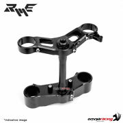 Robby Moto Ergal Racing Triple Clamps Silver Specific For Bitubo Forks