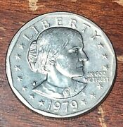 1979 S Susan B Anthony Dollar Us Mint Coin