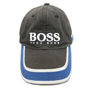 Hugo Boss Hat Cap Switching Logo Multi Colored Blue Silver Gray Women And039s