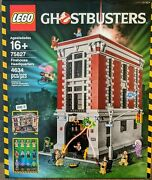 Lego Ghostbusters Firehouse Headquarters Hq 2016 New Sealed Retired 75827