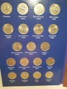 1999 2009 Quarter Set State And Territory Complete Album Statehood Pd Mix 56 Coins