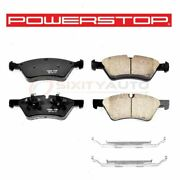Powerstop Front Disc Brake Pad And Hardware Kit For 2011 Mercedes-benz G55 Amg Rt