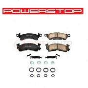 Powerstop Front Disc Brake Pad And Hardware Kit For 1969-1977 Pontiac Lemans - Mc
