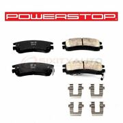 Powerstop Rear Disc Brake Pad And Hardware Kit For 1997-2004 Buick Regal - Xr
