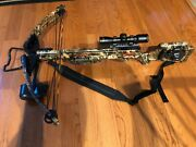 Wicked Ridge Invader Cross Bow With Scope Case Arrows Heads