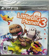 Little Big Planet 3 Ps3, New