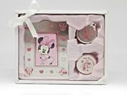 Minnie Mouse Baby Keepsake Boxes And Frame Gift Set